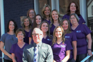 Dr Newhart periodontist in Parkersburg and his team