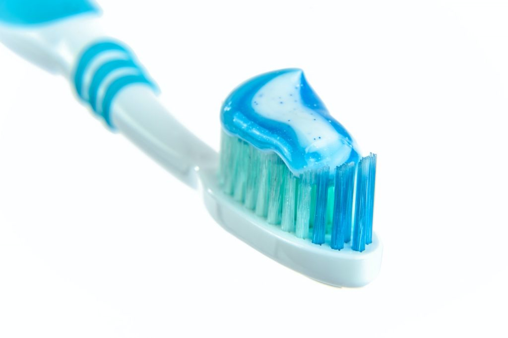 Prevent gum disease with a toothbrush and toothpaste